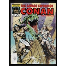 SAVAGE SWORD OF CONAN 107 F/VF - RARE !!