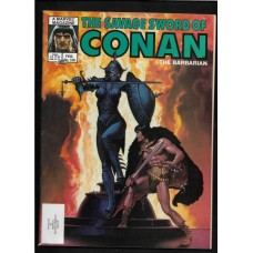 SAVAGE SWORD OF CONAN 109 F/VF - RARE !!