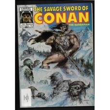SAVAGE SWORD OF CONAN 110 F/VF - RARE !!