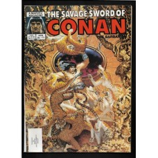 SAVAGE SWORD OF CONAN 111 F/VF - RARE !!