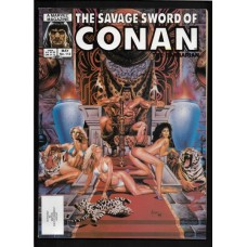 SAVAGE SWORD OF CONAN 112 F/VF - RARE !!