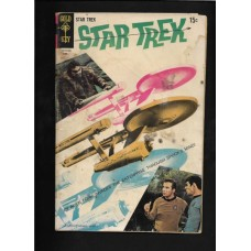 STAR TREK GOLD KEY COMIC 4 - GOOD  - 1st SERIES - RARE !!