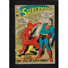 SUPERMAN 220 COMIC - GOOD +  - HOT!!