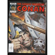 SAVAGE SWORD OF CONAN 113 F/VF - RARE !!