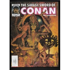 SAVAGE SWORD OF CONAN 114 F/VF - RARE !!
