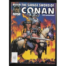 SAVAGE SWORD OF CONAN 117 F/VF - RARE !!