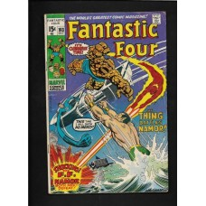 FANTASTIC FOUR 103 COMIC - SILVER AGE - VG CONDITION
