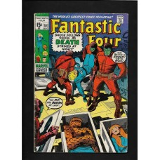FANTASTIC FOUR 101 COMIC - SILVER AGE - VG CONDITION