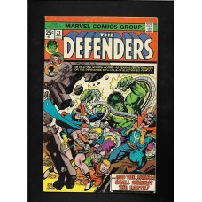 DEFENDERS COMIC 23 - AND THE SNAKES SHALL INHERIT THE EARTH - VG+