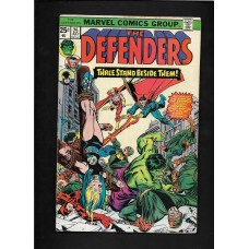 DEFENDERS COMIC 25 - THREE STAND BESIDE THEM - VG+