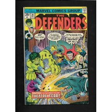DEFENDERS COMIC 30 - THEATRE OF FEAR- VG+