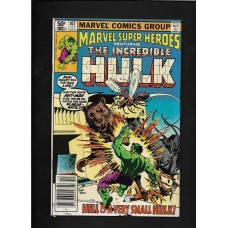 MARVEL SUPER HEROS THE INCREDIBLE HULK 102 MARVEL COMIC VG+ 1980