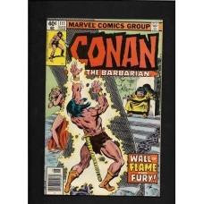 CONAN 111  MARVEL COMIC - VG+