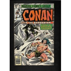 CONAN 105  MARVEL COMIC - VG+
