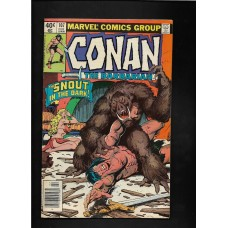 CONAN 107  MARVEL COMIC - VG+