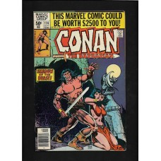 CONAN 114  MARVEL COMIC - VG+