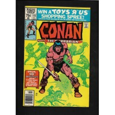 CONAN 115  MARVEL COMIC - VG+