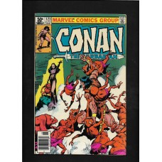 CONAN 123  MARVEL COMIC - VG+