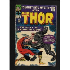 JOURNEY INTO MYSTERY WITH THE MIGHTY THOR 118  1ST DESTROYER - RARE !!