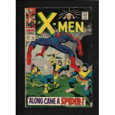 XMEN 35 COMIC - ALONG CAME A SPIDER G/VG 1ST CHANGELING - RARE !!