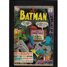 BATMAN 183 DC COMICS 1966  GOOD - KEY ISSUE : 2nd Appearance of POISON IVY