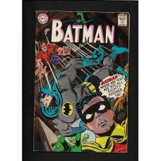 BATMAN 196 DC COMICS (1st Print) 1967 DC Comics  Nice Mid-Grade Copy! FN+