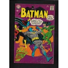 BATMAN 197 DC COMICS (1st Print) 1967 DC Comics  Nice Mid-Grade Copy! FN+