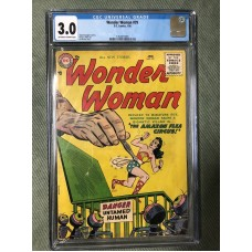WONDER WOMEN 79 CGC 3.0 1962 COMIC 1956