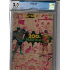 BATMAN 200 - 1968 COMIC DC - CGC 3.0 - RARE !!