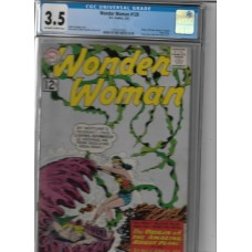 WONDER WOMEN 128 COMIC CGC 3.5