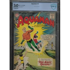 AQUAMAN 6 COMIC - CBCS 3.0 - QUISPS APPEARANCE