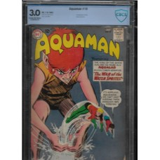 AQUAMAN 10 COMIC - CBCS 3.0 - 1ST APPEARANCE OF QUIRK - RARE !!