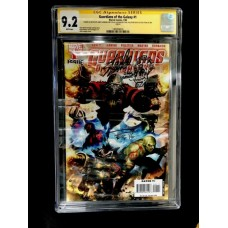 GUARDIANS OF GALAXY 1 CGC SIGNATURE SERIES - STAN LEE / ANDY LANNING + SKETCH / PAUL PELLETIER - 9.2 RARE !!