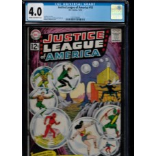 JUSTICE LEAGUE OF AMERICA 16 COMIC BOOK - DC CGC 4.0 - HOT !!