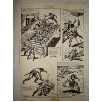 John Buscema/Ernie Chan - Savage sword of Conan (action page)