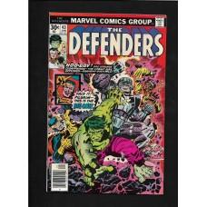 DEFENDERS COMIC 43 -MARVEL COMIC GROUP - VG+