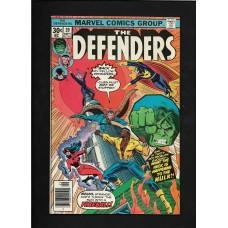 DEFENDERS COMIC 39 - MARVEL COMIC GROUP- FINE