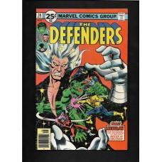 DEFENDERS COMIC 38 - NEBULON- VG/F