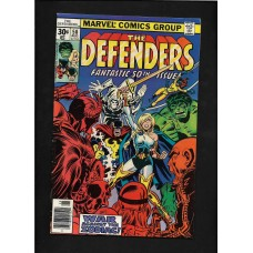 DEFENDERS COMIC 50 - WAR AGAINST THE ZODIAC - VG+