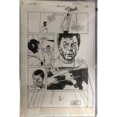 STAR TREK 68 PAGE 10 ORIGINAL INTER ART PAGE SIGNED BY THOMAS DERENICK - RARE !!