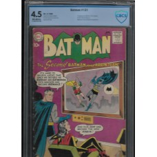 BATMAN 131 - 1960 DC COMIC - 4.5 CBCS - RARE !!
